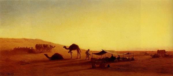 An Arab Encampment1
